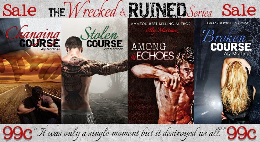 Wrecked and Ruined Series by AlyMartinez