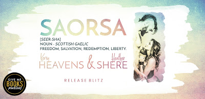 Release Boost – SAORSA by Kerry Heavens & Heather Shere