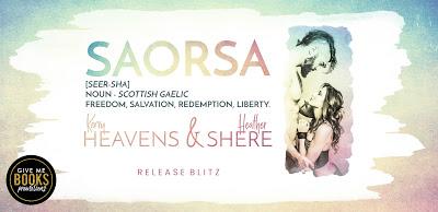 Release Boost – SAORSA by Kerry Heavens & HeatherShere